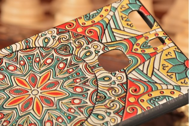 """Фирменная роскошная задняя панель-чехол-накладка с объемным  3D изображением для Huawei P9 + Plus (VIE-AL10 ) 5.5"""" с безумно красивым рисунком  """"Тематика Эклектические узоры"""""""