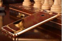 """Фирменная металлическая задняя панель-крышка-накладка из тончайшего облегченного авиационного алюминия для Huawei P9 + Plus (VIE-AL10 ) 5.5""""  золотая"""