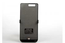 """Чехол-бампер со встроенной усиленной мощной батарей-аккумулятором большой повышенной расширенной ёмкости 5500mAh для Huawei P9 + Plus (VIE-AL10 ) 5.5""""  черный + гарантия"""