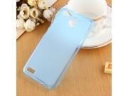 Фирменная ультра-тонкая полимерная из мягкого качественного силикона задняя панель-чехол-накладка для  Huawei ..