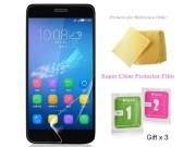 Фирменная оригинальная защитная пленка для телефона Huawei G8 mini / Huawei Enjoy 5S глянцевая..