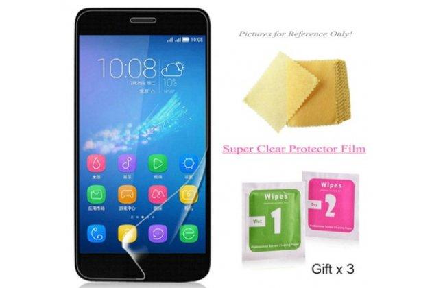 Фирменная оригинальная защитная пленка для телефона Huawei G8 mini / Huawei Enjoy 5S глянцевая