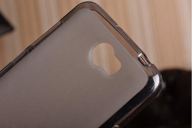 """Фирменная ультра-тонкая полимерная из мягкого качественного силикона задняя панель-чехол-накладка для Huawei Y5 2 (II) LTE / Huawei Honor 5A 5.0""""( LYO-L21) черная"""