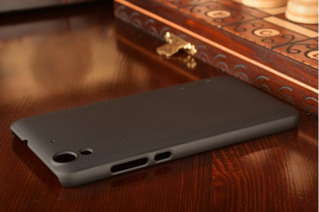 """Фирменная задняя панель-крышка-накладка из тончайшего и прочного пластика для Huawei Y6 2 (II)"""" черная"""