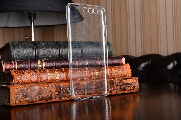 Фирменная ультра-тонкая полимерная из мягкого качественного силикона задняя панель-чехол-накладка для Huawei P10 Plus