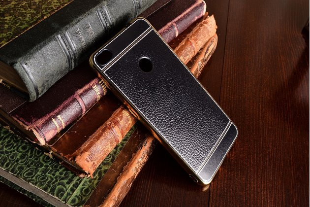 Фирменная премиальная элитная крышка-накладка на Huawei Honor 8 Lite / Huawei P8 Lite 2017 Edition  черная из качественного силикона с дизайном под кожу