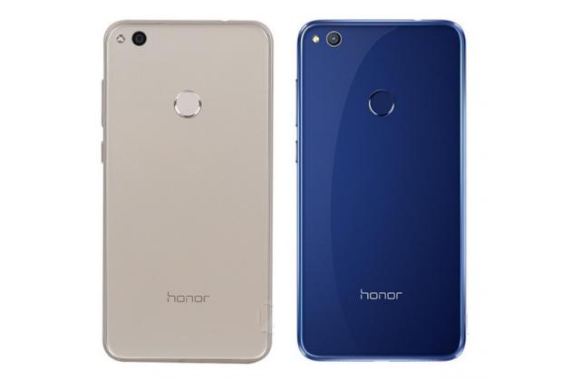Родная оригинальная задняя крышка-панель которая шла в комплекте для Honor 8 Lite / Huawei P8 Lite 2017 Edition  синяя