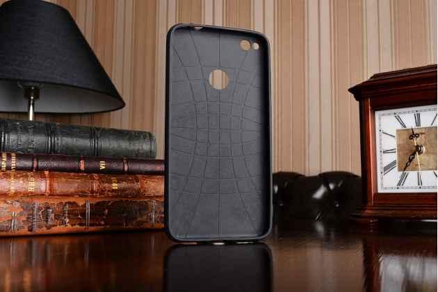 Фирменная уникальная задняя панель-крышка-накладка из тончайшего силикона для Huawei Honor 8 Lite / Huawei P8 Lite 2017 Edition  с объёмным 3D рисунком тематика Эклектические Узоры