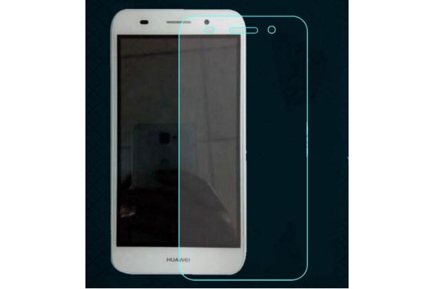 Фирменная оригинальная защитная пленка для телефона Huawei Y3 2017 (CRO-U00 / CRO-L02) 5.0 глянцевая