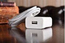 Фирменное оригинальное зарядное устройство от сети для телефона Huawei Ascend G7 + гарантия