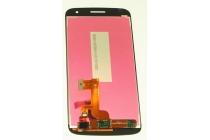 Фирменный LCD-ЖК-сенсорный дисплей-экран-стекло с тачскрином на телефон Huawei Ascend G7 черный + гарантия