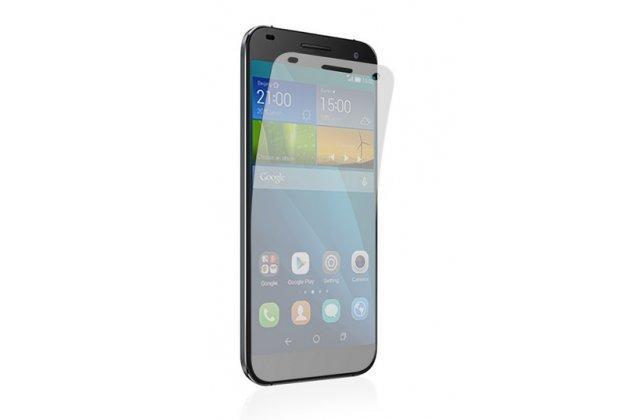 Фирменная оригинальная защитная пленка для телефона Huawei Ascend G7 глянцевая
