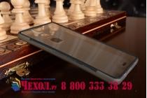Фирменная ультра-тонкая полимерная из мягкого качественного силикона задняя панель-чехол-накладка для Huawei Ascend Mate 7 черная