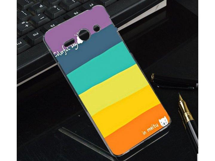 Фирменная необычная из легчайшего и тончайшего пластика задняя панель-чехол-накладка для Huawei Ascend Y530