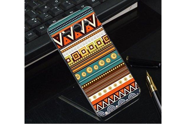 Фирменная роскошная задняя панель-чехол-накладка с безумно красивым расписным эклектичным узором на Huawei Ascend Y530