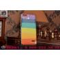 Фирменная необычная из легчайшего и тончайшего пластика задняя панель-чехол-накладка для Huawei Honor 4C