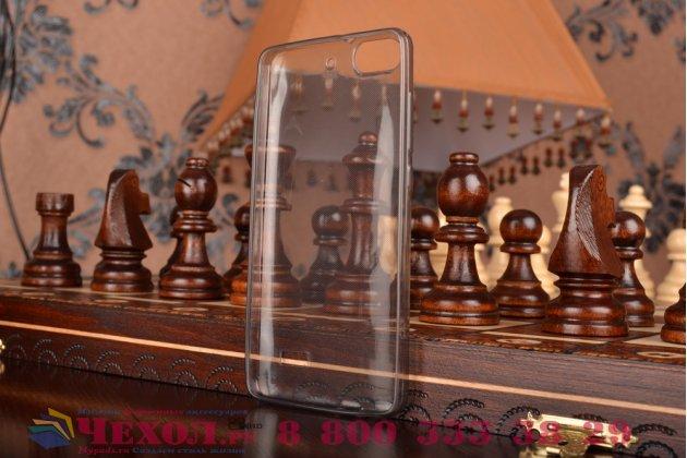 Фирменная ультра-тонкая полимерная из мягкого качественного силикона задняя панель-чехол-накладка для Huawei Honor 4c черная