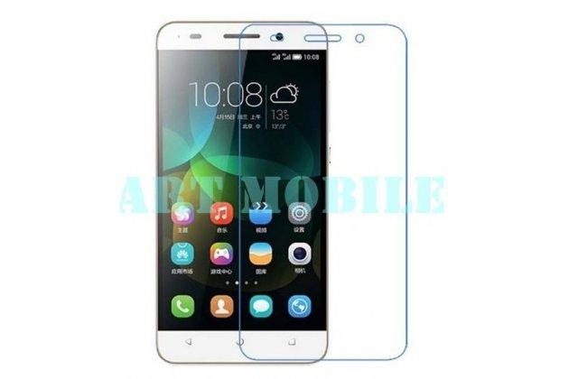 Фирменная оригинальная защитная пленка для телефона Huawei Honor 4C глянцевая