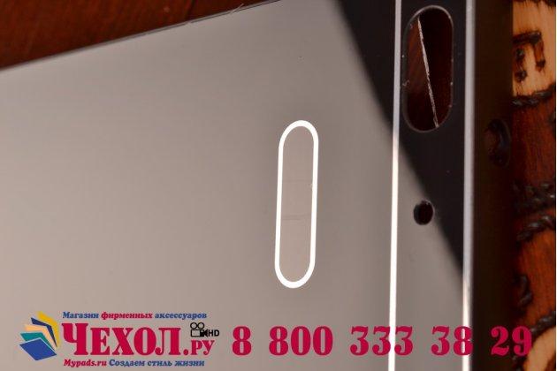Фирменная металлическая задняя панель-крышка-накладка из тончайшего облегченного авиационного алюминия для Huawei Honor 4C черная