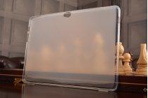 """Фирменная ультра-тонкая полимерная из мягкого качественного силикона задняя панель-чехол-накладка для Huawei MediaPad M2 10.0 M2-A01W/L 10.1"""" белая"""