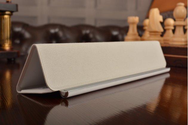 Фирменный оригинальный чехол с логотипом для Huawei MediaPad M2 8.0 LTE (M2-801W M2-803L) Smart Wake белый