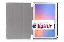"""Фирменный умный тонкий чехол для Huawei MediaPad M2 10.0 M2-A01W/L 10.1  """"Il Sottile"""" зеленый пластиковый"""