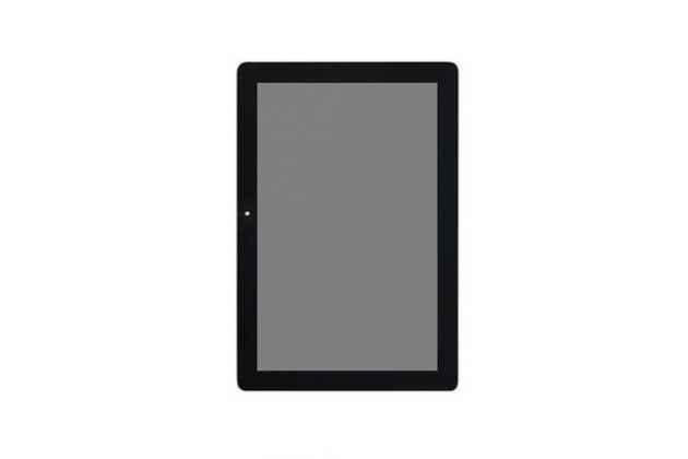 Фирменный LCD-ЖК-сенсорный дисплей-экран-стекло с тачскрином на планшет Huawei Mediapad 10 FHD/10 FHD LTE (s10-S101U/S101L/S102U) черный + инструменты для вскрытия + гарантия