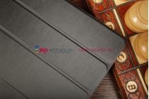 Тонкий легкий фирменный чехол-обложка для Huawei Mediapad 10 Link черный пластиковый