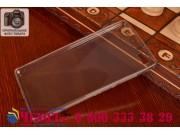 Фирменная ультра-тонкая полимерная из мягкого качественного силикона задняя панель-чехол-накладка для Huawei P..