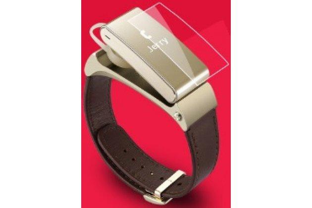 Фирменная оригинальная защитная пленка для фитнес-браслета Huawei TalkBand B2 глянцевая
