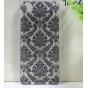 Фирменная роскошная задняя панель-чехол-накладка с расписным узором для Huawei Ascend G630 прозрачная черная..