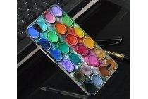 """Фирменная необычная уникальная пластиковая задняя панель-чехол-накладка для Huawei Ascend G630 """"тематика краски"""""""