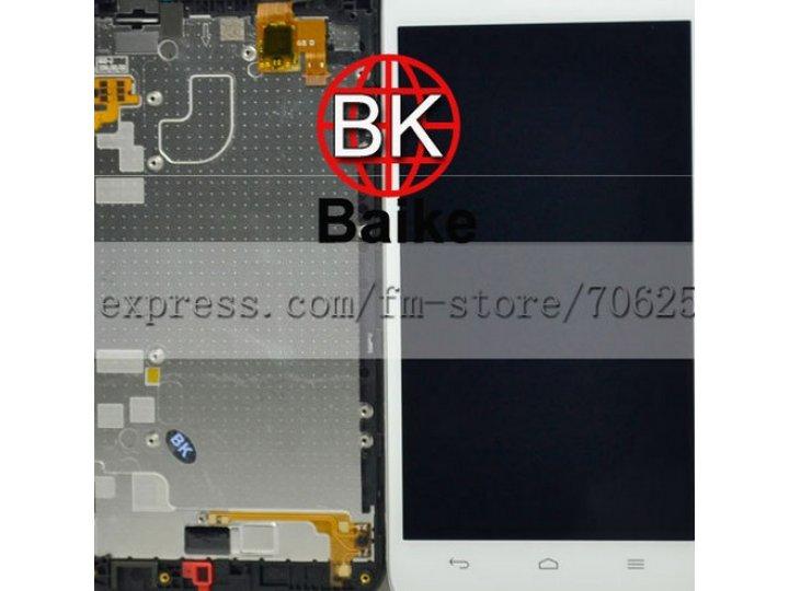 Фирменный LCD-ЖК-сенсорный дисплей-экран-стекло с тачскрином на телефон Huawei Ascend G630 белый + гарантия..