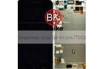 Фирменный LCD-ЖК-сенсорный дисплей-экран-стекло с тачскрином на телефон Huawei Ascend G630 черный + гарантия