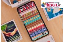 """Фирменная роскошная задняя панель-чехол-накладка из мягкого силикона с объемным 3D изображением на Huawei Ascend G630 с безумно красивым рисунком """"Тематика Эклектические узоры"""""""