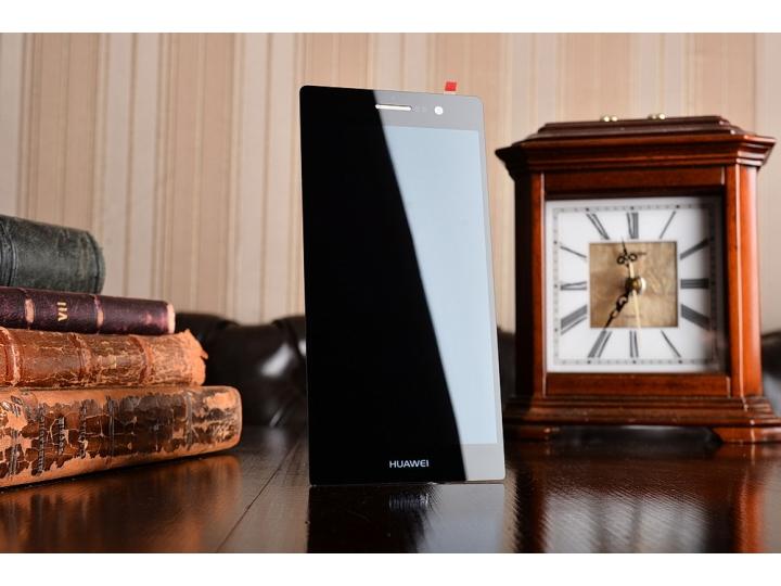 Фирменный LCD-ЖК-сенсорный дисплей-экран-стекло с тачскрином на телефон Huawei Ascend P7 / P7 Dual Sim черный ..