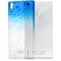 Фирменная из тонкого и лёгкого пластика задняя панель-чехол-накладка для Huawei Ascend P7 / P7 Dual Sim прозра..