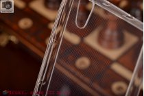 Фирменная ультра-тонкая полимерная мягкая задняя панель-чехол-накладка для Huawei Ascend P7 белая