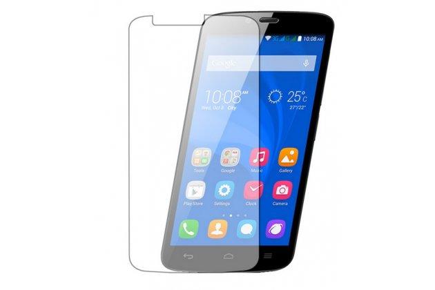 Фирменная оригинальная защитная пленка для телефона Huawei Honor 3C Lite глянцевая