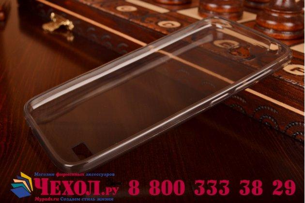 Фирменная ультра-тонкая полимерная из мягкого качественного силикона задняя панель-чехол-накладка для Huawei Honor 3C Lite черная