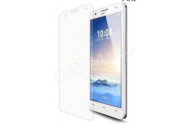 Фирменная оригинальная защитная пленка для телефона Huawei Honor 6 матовая