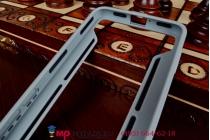 Фирменный оригинальный чехол-бампер для Huawei Honor 6 (H60-L04) черный прорезиненный