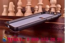 Фирменная металлическая задняя панель-крышка-накладка из тончайшего облегченного авиационного алюминия для Huawei Honor 6 черная