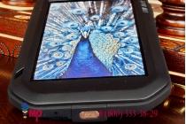 Неубиваемый водостойкий противоударный водонепроницаемый грязестойкий влагозащитный ударопрочный фирменный чехол-бампер для Huawei Honor 6 (H60-L04)  цельно-металлический со стеклом Gorilla Glass