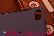 Фирменная ультра-тонкая полимерная из мягкого качественного силикона задняя панель-чехол-накладка для Huawei Honor 6 черная