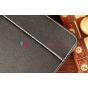 Чехол-обложка для Inch Regulus-2 (7.85) черный кожаный