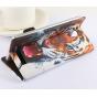 Фирменный уникальный необычный чехол-подставка с визитницей кармашком на Jiayu S3 5.5