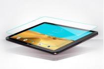 Фирменное защитное закалённое противоударное стекло премиум-класса из качественного японского материала с олеофобным покрытием для планшета LG G Pad 2 10.1 (V940/ V935)
