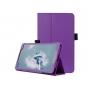 Фирменный оригинальный чехол обложка с подставкой для LG G Pad 2 8.0 (V498) фиолетовый кожаный..