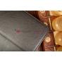 """Фирменный чехол-обложка для LG G Pad 8.3 черный натуральная кожа """"Prestige"""" Италия"""